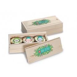 Gewürz Trio-Geschenkbox