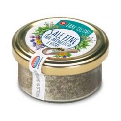 Feines Aromatisches Kräuterblumen Salz
